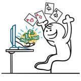 أمان لعب القمار عبر الإنترنت