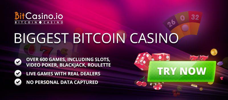 يعتبر موقع Bitcasino.io أول موقع كازينو الانترنت في العالم