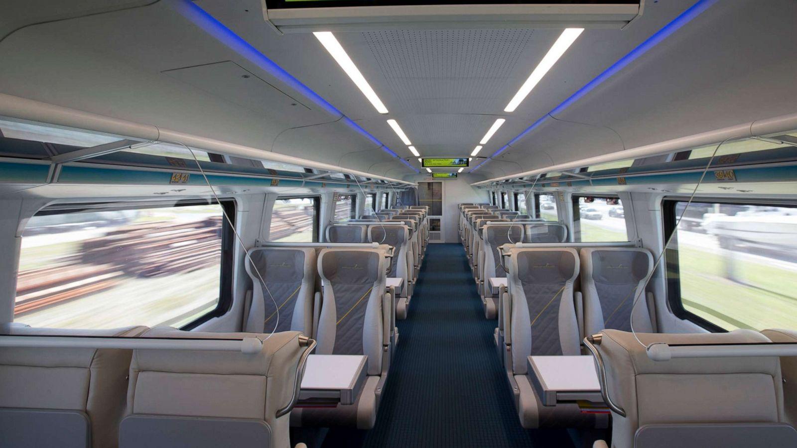 قطار فائق السرعة  لكازينوهات لاس فيغاس